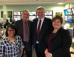 Visiting Children's Service team at East Lothian Council