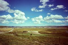 The Platform (hiphopmilk) Tags: copyright©jaredyehwooehmoehfilms konica offroad 現場監督 zoom 35mm 135film film analog analogue jaredyeh hiphopmilk kodak travel china sichuan aba hongyuan qiongxi qiongxizhen tibetan longrang platform plateau grassland plain sky cloud