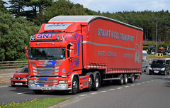 SNT Stuart Nicol Transport Scania R450 N600SNT (andyflyer) Tags: snt stuartnicoltransport scaniar450 n600snt truck haulage roadtransport hgv lorry a90
