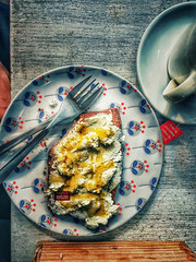 Honey waves (amuna_caty) Tags: food canon color colors cup clear coffee cold photo photography photograph photographer picture nice cheese bread beautiful breakfast