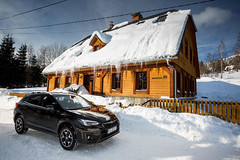 Subaru XV (maciek.polikowski) Tags: automotive projectautomotive car cars carspotting canon carphoto carphotography cartest canon5d canon5d3 carreview snow winter mountains karkonosze subaru xv awd 4x4