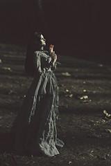 Cora (dolls of milena) Tags: bjd resin doll portrait natalie whispering grass dark