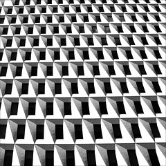 [ - ] (YIP2) Tags: windows bw city urban minimal architecture black white minimalism line lines simple less linea detail geometry pattern design details square abstract blackandwhite shadow stripes building graphic carre construction repetition urbandetail facade