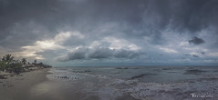 Chelem panorámica 9662 ch (Emilio Segura López) Tags: atardecer panoramica chelem yucatán méxico playa mar cielo nube arena costa olas