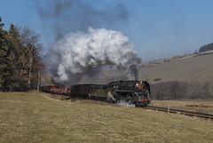 ČSD 475.111 Úloh 10/02/2008 (stefano.trionfini) Tags: train treni bahn zug dampf steam čsd 475111 boemia rceca