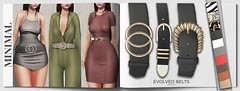 MINIMAL - Evolved Belts (MINIMAL Store) Tags: minimal evolved belts n21 event secondlife accessories jewelry hud fashion clothes outfit