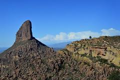 In(spire)ational (jeffr71) Tags: spire mountain sky tree arizona superstitionwilderness peraltatrailhead weaversneedle