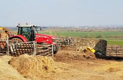 Town & Country (R~P~M) Tags: farm farmyard tractor waddesdon red aylesbury bucks buckinghamshire england uk unitedkingdom greatbritain