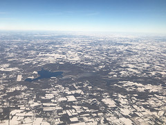 East Fork State Park - Clermont County, Ohio, USA - January 21, 2019 (mango verde) Tags: airplane harshalake eastforkstatepark clermontcounty ohio usa mangoverde