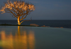 Stillness Awaits.jpg (remiklitsch) Tags: lights reflection pool night cabo mexico nikon remiklitsch lasventanasalparaio panorama panoramic bluehour ndfilter ocean sky longexposure