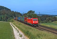 DB 185 342 (maurizio messa) Tags: br185 traxx bombardier germania germany guterzuge cargo mau bahn bayern ferrovia freighttrain fret treni trains railway railroad nikond7100 intermodale