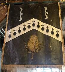 [73622] York : Merchant Adventurers' Hall - Clothworkers (Budby) Tags: york northyorkshire hall guild gild