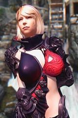 Deathskin #4 (abrarmcfly) Tags: skyrim tesv real vision enb tera armor deathskin sexy