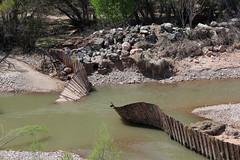 Clarkdale Dam breach (twm1340) Tags: 2019 dam clarkdale az arizona verdevalley verderiver yavapai county breach collapse freeport mcmoran mining company owner riparian