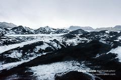 Sólheimajökull glacier, Iceland (Naomi Rahim (thanks for 4.7 million visits)) Tags: iceland 2018 scandinavia europe travelphotography travel nikon nikond7200 wanderlust sólheimajökull glacier nature landscape day blue black white roadtrip cold autumn