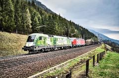 LAI_0143 (Hans-Peter Kurz) Tags: br1020 br1293 taurus mölltal kolbnitz penk siemens br1016 werbelok werbung green points öbb österreichische bundesbahnen vectron güterzug freight cargo doppeltraktion kbs220 tauernbahn