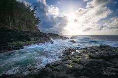 Queen's Bath III (sberkley123) Tags: ngc princeville tidefall kauai nikon sunset z7 ocean streams tidepool pacific longexposure usa hawaii 1424mm queensbath