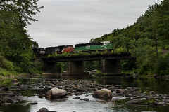 287 Triclops (jc_canon) Tags: panamsouthern pas panam norfolksouthern ns ervingmassachusetts millersriver 287 triclops train freight freighttrain district3 d3 cbfx6030