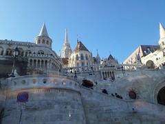 The Fishermen's Bastion and Matyas Church (Pfuetzi) Tags: castle hill budapest
