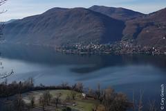 Le Lago di Lugano vu depuis Castellaccio, au-dessus de Casoro (Ticino); en face, Brusimpiano (I) (27/12/2018 -02) (Cary Greisch) Tags: brusimpiano che carygreisch casoro figino lagodilugano sassodelleparole see switzerland ticino lac