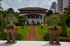 Bangkok – Open Day at the French Ambassador's Residence (Thomas Mülchi) Tags: residenceoftheembassyoffrance bangrakdistrict bangkok 2018 garden building house plants women woman persons person people men man bangkokmetropolitanregion thailand th