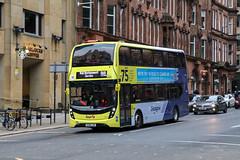 33219 SK68LXH First Glasgow (busmanscotland) Tags: ad adl alexander dennis enviro400 mmc 33219 sk68lxh first glasgow sk68 lxh