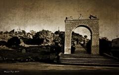 VIRGEN DE LA CABEZA (ANDÚJAR - JAÉN) (Miguel Pozo) Tags: pozoman virgendelacabeza sierramorena andalucia jaén blancoynegro sepia miguelpozo miguelpozo2 photoshop paisajes panorámica atardecer nikon d90 reveladodigital raw nef monumentos