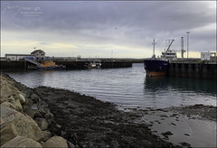 21 - Low Tide (North Light) Tags: coast harbour tide lowtide winter tanker lifeboat scrabsterharbour caithness scotland