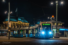 Gothenburg Night (Fredrik Lindedal) Tags: city cityscape cityview gothenburg göteborg train tram light centralstation streetview sweden sverige traffic buildings lindedal