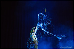 Master of water (ermannobraghiroli) Tags: upwind cirkus circus circo contemporaneo contro vento teatro