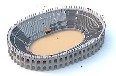 Roman Amphitheatre WIP 3 (Thunderflare.) Tags: lego ldd rome roman empire amphitheatre
