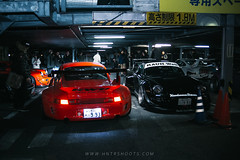 RWB Abfall Seele and Gespenst at the RWB Meet 2019 | Roppongi, Tokyo, Japan (HntrShoots) Tags: rwb rauh welt begriff nakai nakaisan porsche 993 964 997 work wheels japan tokyo roppongi