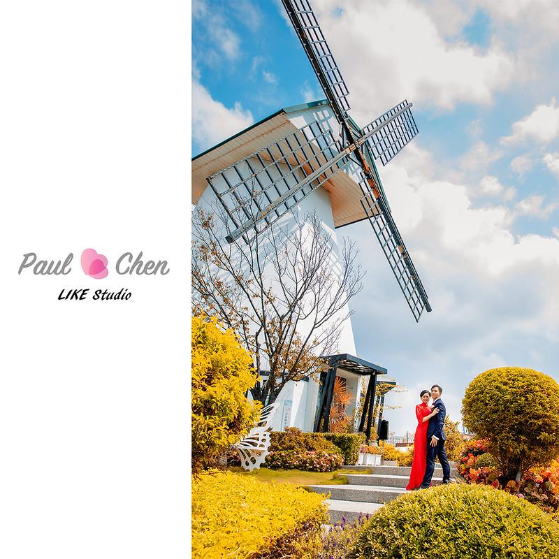 【婚攝】青青風車莊園@Paul&Chen