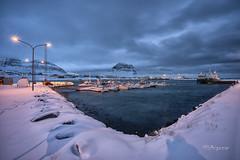 GRUNDARFJÖRÐUR. Islandia (angelrm) Tags: grundarfjörður islandia iceland puerto seaport nocturna nightshot sony