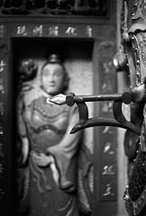 天后宮_5 (Taiwan's Riccardo) Tags: 2018 135film negative bw fujifilmacros100 plustek8200i taiwan slr canoneos3 canonlens stm ef fixed 50mmf18 台北市 西門町 天后宮