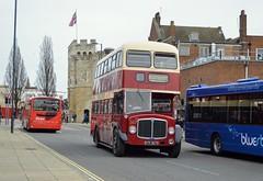 Southampton Bargate (PD3.) Tags: southampton corporation aec regent 367 go ahead goahead group gsc south coast eastleigh hampshire england uk bus buses psv pcv barton park hants bluestar btr367b btr 367b