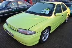 M836 ELA (Nivek.Old.Gold) Tags: 1994 ford mondeo si 16v 5door 1988cc aca citrine