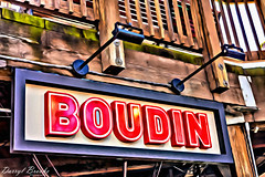 Boudin Bakery Sign (dbvirago) Tags: 39 bay boudin harbor america architecture attraction bakery bread california city destination famous fisherman fishermans food francisco historic landmark marina ocean pacific people pier port san sea sign tourism tourist travel usa vacation view water waterfront wharf
