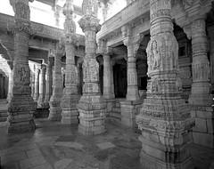1938 (The Dent.) Tags: mamiya7ii tmy2 hc110 dilution b 7 min india ranakpur jain temple rajasthan