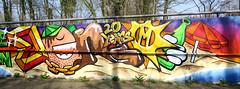 Graffiti in Lisse (wojofoto) Tags: graffiti streetart nederland netherland holland lisse wojofoto wolfgangjosten benoi benoit
