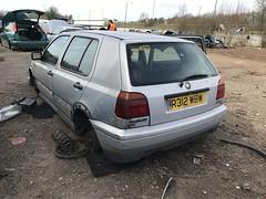 CL tdi (Sam Tait) Tags: diesel turbo tdi cl 19 ve vw volkswagen golf silver 5 door retro rare classic 1997