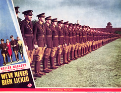 """Promotional materials for """"We've Never Been LIcked"""" 01.jpg (buddymedbery) Tags: years unitedstates worldwarii collegestation 1943 1940s texas"""