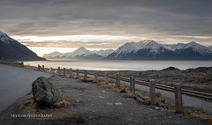Beluga point sunrise (Traylor Photography) Tags: alaska belugapoint landscape sunrise sewardhighway panorama turnagainarm anchorage indian unitedstatesofamerica us
