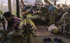 Silk Factory-80131-2 (Ira Lee) Tags: gada diskus apsaras vishnu kambu siemreap cambodia lotus angkorwat kohkertemple bengmealeatemple bayon taphrom asia asien sunrise bakhenghill southgate deadsgate pokamboravenue oldmarket nightmarket pubstreet tuktuk tonlesap watbo buddah stevefrog iralee streetlife nightlife silk