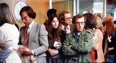 """I'm comparatively normal for a guy from Brooklyn."" (Just Back) Tags: woody allen manhattan ny nyc newyork film movie queue converstaion annie hall diane keaton godfather line people conversation argument"
