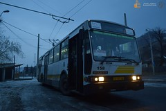 Troleibuzul S.A. 158 (Pavlos Andreas - Transport Photography) Tags: rocar desimon piatraneamt constanta troleibuz trolleybus bus