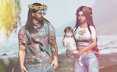my hippy family (Chelsea Noele Bixley) Tags: 1969 woodstock hippies hippy family vintage old