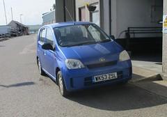 One owner 2004 Daihatsu Charade SL (occama) Tags: wk53zsl 2004 daihatsu charade blue old car cornwall uk small japanese cornish