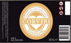 Netherlands - Brouwerij Corviri (Glimmen) (cigpack.at) Tags: netherlands niederlande holland corviri quadrupel brouwerijcorviri bier beer brauerei brewery label etikett bierflasche bieretikett flaschenetikett