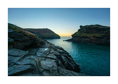 THE PUDDLE (Barry Haines) Tags: cornwall boscastle harbour 2019 sony 15mm voigtlander a7r2 a7rii flickrsbest